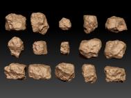 Zbrush igneous rocks sculpt